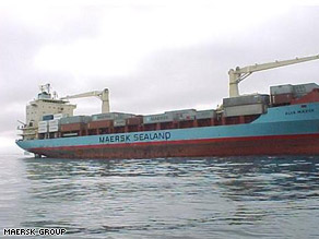The hijacked ship is the Maersk Alabama, formerly known as the Alva Maersk.