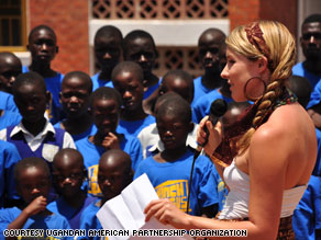 Brittany Merrill was 19 when she first visited Uganda and dedicated herself to the creation of the orphan home.