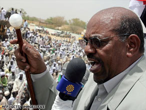 Sudanese President Omar al-Bashir has dismissed war crimes charges as a Western attempt to recolonize Sudan.