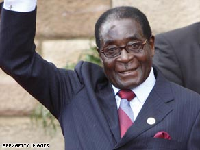 The trio are accused of plotting to overthrow Zimbabwean President Robert Mugabe.