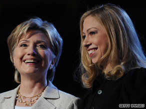 Hillary Clinton says she would let her daughter Chelsea know about a Kenyan man's unique marriage offer.