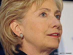 Hillary Clinton was in Cape Verde on Friday on the final leg of her Africa tour.