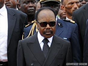Former Gabon President Omar Bongo