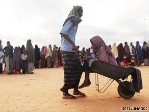The Dadaab refugee complex is the largest of its kind in the world.