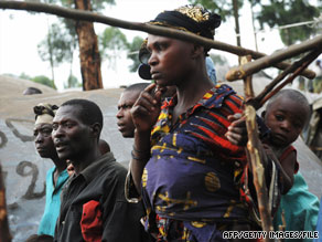 Hundreds of thousands of Congolese have been displaced by years of violence in the region.