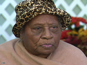 "Gertrude Baines told CNN two years ago that she has taken good care of herself, ""the way (God) wanted me to."""