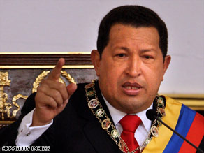 Venezuelan President Hugo Chavez in November called for a referendum on unlimited re-elections.