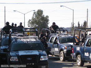 In Juarez, Mexico, 1,600 people were killed in 2008, three times more than the most murderous city in the U.S.