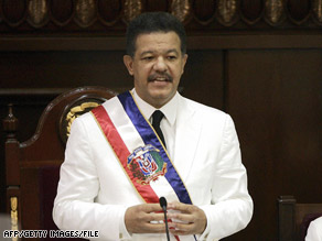 Dominican Republic President Leonel Fernandez has faced political pressure to act on government corruption.