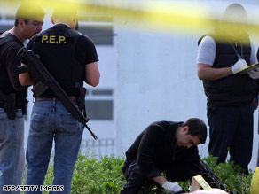 Mexican authorities discovered three headless bodies in Tijuana on Tuesday.