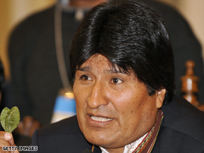 Bolivia expels U.S. diplomat