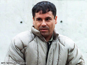"Joaquin ""El Chapo"" Guzman Loera, pictured in 1993, ranks 701th on Forbes' yearly report on billionaires."