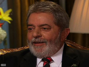 Brazilian President Luiz Inacio Lula da Silva says his country should be part of the U.N. Security Council.