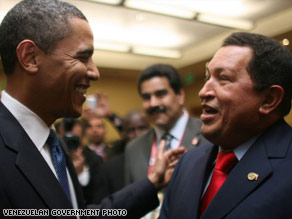  Obama&#039;s appearance with Chavez has drawn some heat.