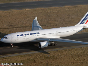 Some wreckage from  Air France Flight 447 has been recovered, including part of the tail.