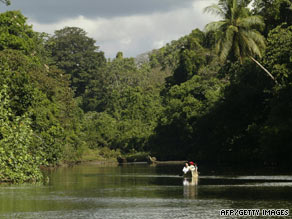 Costa Rica is known for its lush rain forests and pristine beaches.