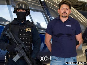 The recent spate of violence was sparked by the arrest of high-ranking drug cartel member Arnoldo Rueda Medina.