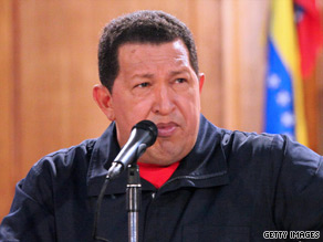 President Hugo Chavez says Venezuela has increased success in the drug fight since ousting the DEA in '05.