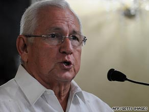 A State Department spokesman said the U.S. does not recognize Roberto Micheletti as Honduras' president.