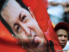 "Venezuelan President Hugo Chavez reportedly said he aims to build a ""nuclear village"" with Iranian help."