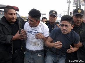 Police arrests two suspects in one of the three attacks.