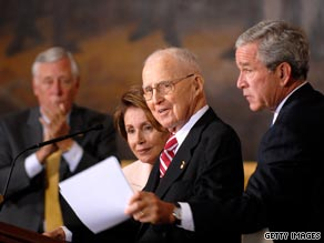Norman Borlaug received a Congressional Gold Medal from then President George W. Bush on July 17, 2007.