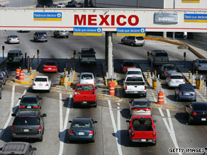 Mexican officials want to make sure the tourist traffic continues to flow into Tijuana.