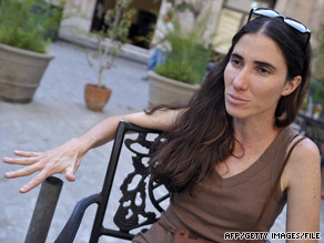 Cuban Yoani Sanchez, pictured last year in Havana, writes a blog that gets more than 1 million hits a month.