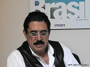Ousted President Jose Manuel Zelaya has been staying in the Brazilian Embassy in Tegucigalpa, Honduras.