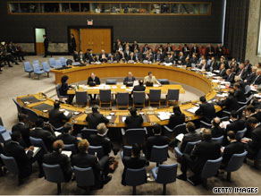 Five new counties will be elected Thursday as nonpermanent members of the U.N. Security Council.