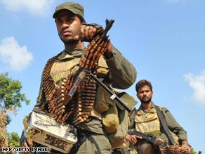 Sri Lankan army troops have had there most decisive victories against the Tamil Tigers in recent weeks.