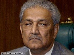 A.Q. Khan was the brains behind Pakistan's nuclear bomb.