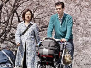 Japan's birth rate of 1.34 is below the level needed to maintain the country's population.
