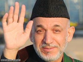 Afghan President Hamid Karzai's five-year term is coming to an end this year.