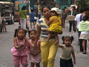 Sheila Villanueva, a 25-year-old maid with five children, said she would not use contraceptives.