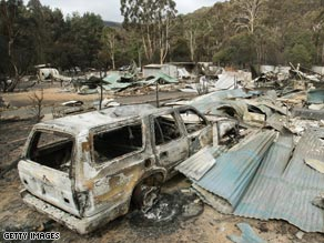Bushfires have destroyed huge tracts of the Australian countryside.
