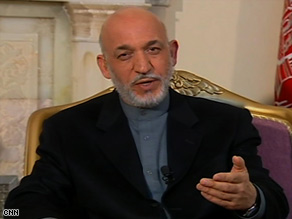 "The task for U.S. forces in Afghanistan ""is not over,"" Afghanistan's President Hamid Karzai says."