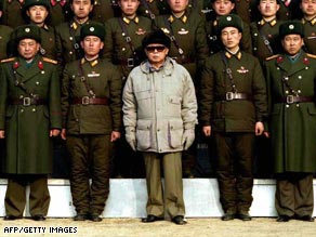 North Korea's reclusive leader Kim Jong-Il