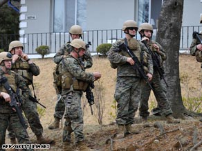 U.S. troops have started joint military exercises with their South Korean counterparts.
