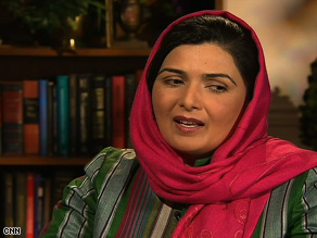 Suraya Pakzad tells CNN any deal between the U.S. and Taliban moderates should consider women's concerns.