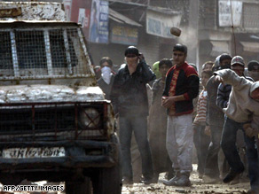 Separatist protests in Kashmir, like this one last week, have left thousands of people dead.