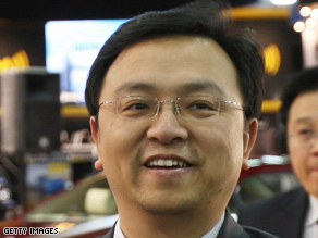 Building his own dreams: Wang Chuanfu has turned BYD into an international company in less than 15 years.