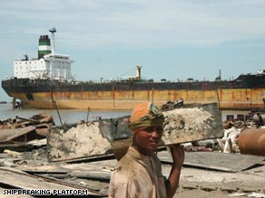 Rizwana Hasan has her sights set on cleaning up more than just the shipbreaking industry in Bangladesh.