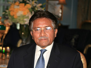 Former Pakistani President Pervez Musharraf resigned under intense political pressure in August.