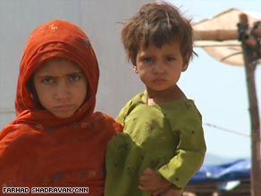 The Jalozai camp housed Afghan refugees until recently. Now, it's home to thousands of Pakistanis as well.