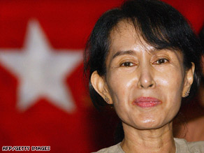 American John Yettaw reportedly said God told him to go to Suu Kyi's house to protect her.