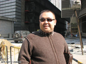 Kim Jong Nam, 35, in southern China's casino haven of Macau on January 30, 2007