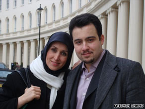 Fatemah Shams and Mohammadreza Jalaeipour are students together at the University of Oxford.