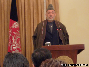 "Afghan President Hamid Karzai says such incidents damage ""the state building process in Afghanistan."""