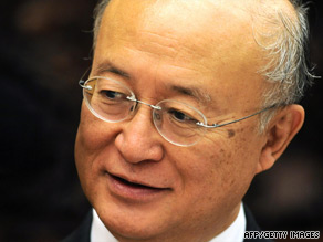 Amano chaired the organization's board of governors between 2005-06.